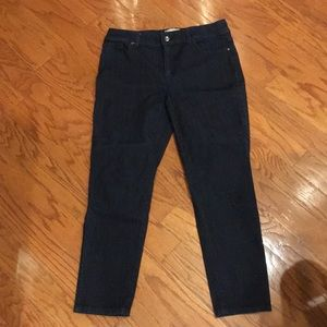 Chico's fabulously slimming ankle jeans .5